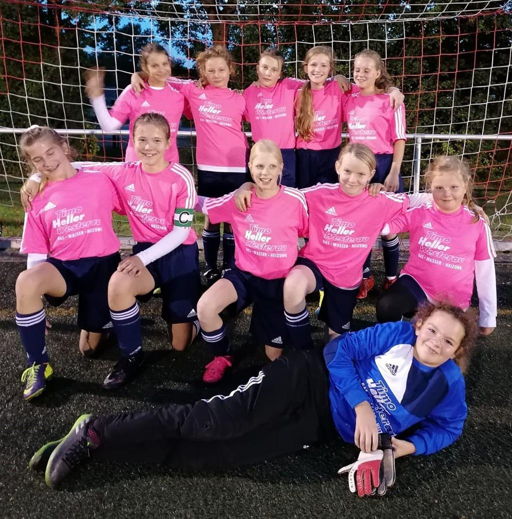 Fussball D-Jugend Mädchen