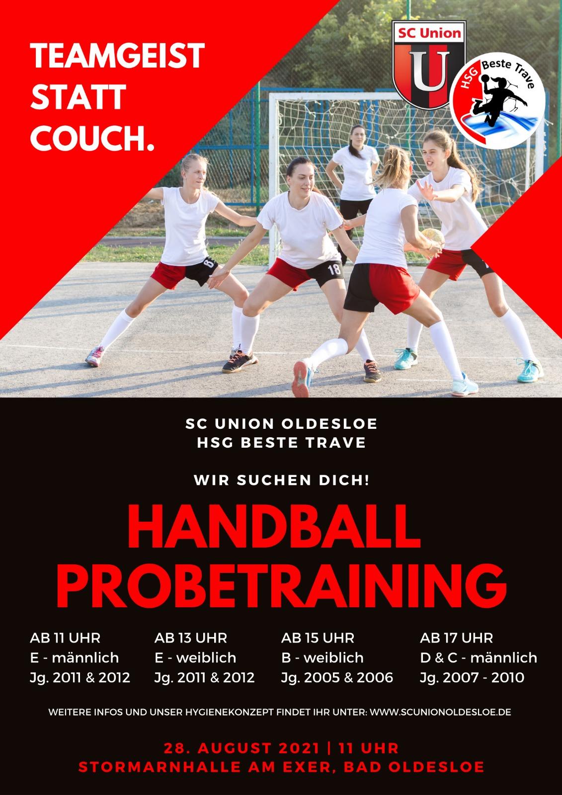 Handball Probetraining